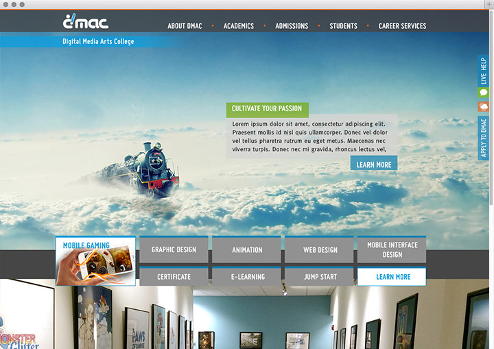 DMAC home page